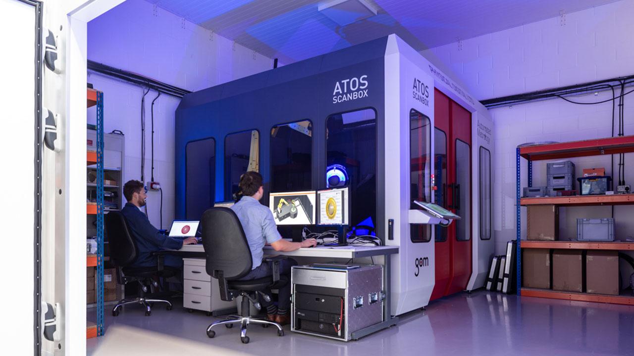ATOS Scanbox, GOM 3D scanner