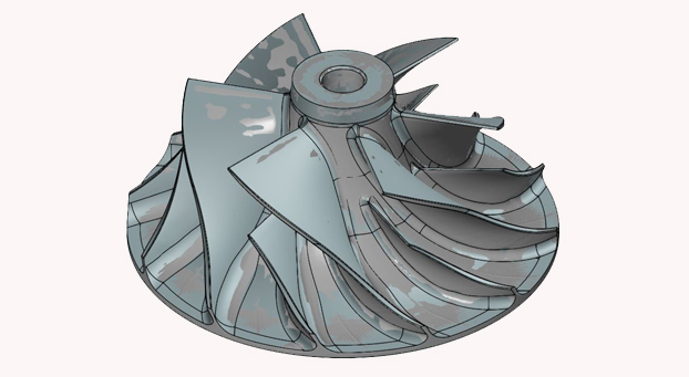 Reverse engineering of turbine