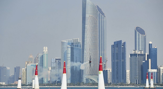 Ben Murphy prepares for first Red Bull Air Race in Abu Dhabi