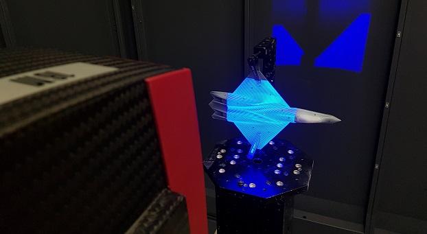 Laser Scanning - 3D optical scanning phase shifting fringe pattern