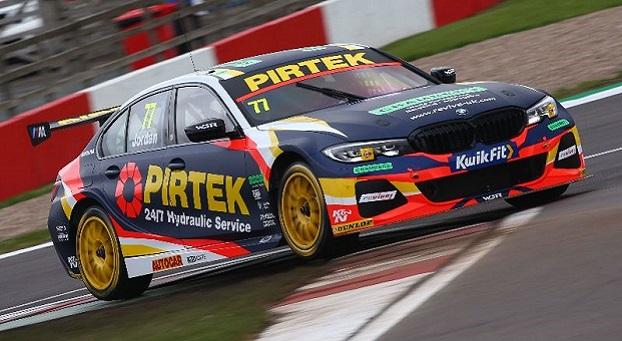 Andrew Jordan, BMW Pirtek Racing BMW 330i M Sport, BTCC, Donington Park, UK