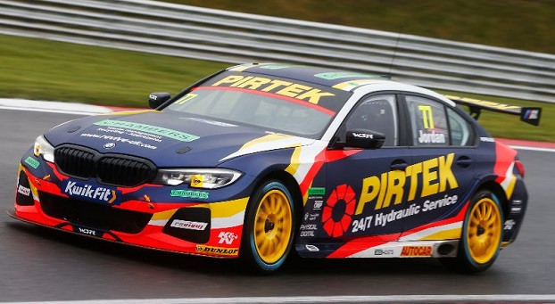 Andrew Jordan, BMW Pirtek Racing BMW 330i M Sport, BTCC, Brands Hatch, UK
